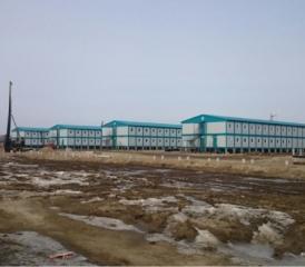 Строительство временного вахтового поселка и полевых офисов для СИБУР ООО